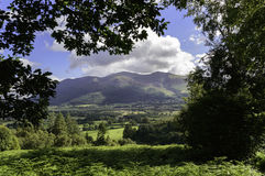 Skiddaw Framed Royalty Free Stock Images