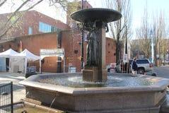 Skidmore fontanna Obrazy Stock