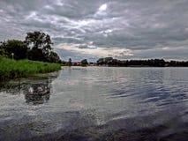 """Skie del """"de LicheÅ del lago Imagen de archivo libre de regalías"""