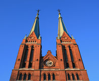 Skien church Stock Image