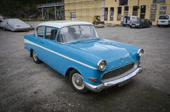 Opel Record veteran vintage car royalty free stock images