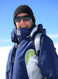 skier Στοκ Φωτογραφίες