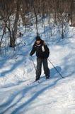skier Royaltyfri Bild