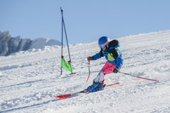 skier fotos de archivo