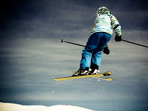 skier Stockfoto