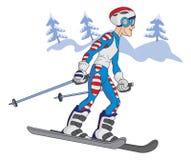 skier Lizenzfreies Stockfoto