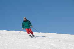 Skier Royalty Free Stock Photos