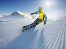 Skier Stock Photo