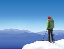 skier Arkivbild