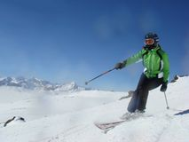 Free Skier Royalty Free Stock Photography - 8930657