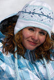 Skier girl Royalty Free Stock Photo
