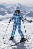 Skier girl Royalty Free Stock Photo