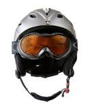 Skier helmet Stock Image