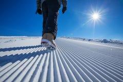 Free Skier Is Posing At Camera At Gudauri Resort In High Mountaing Of Stock Photo - 33963180