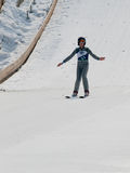 Skier jumper Royalty Free Stock Photography