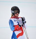 Skier Lara Gut Royalty Free Stock Images