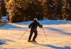 Skier. Male skier Stock Photos