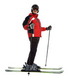 Skier man Royalty Free Stock Images