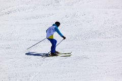 Skier at mountains ski resort Innsbruck - Austria Stock Photos