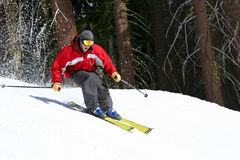 Free Skier On A Slope Stock Photos - 83403