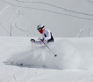 Skier Royalty Free Stock Photography