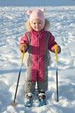 skierbarn Royaltyfri Fotografi