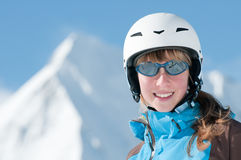 skierbarn Royaltyfria Bilder