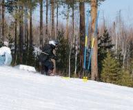 skierbarn Royaltyfri Foto