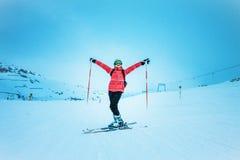 Skierl, ακραίος χειμερινός αθλητισμός στοκ φωτογραφία με δικαίωμα ελεύθερης χρήσης