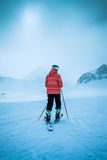 Skierl,  extreme winter sport Stock Images