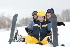 skiers Royaltyfria Foton