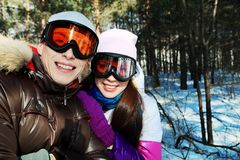 Skiers Stock Images