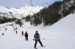 skiers Immagine Stock Libera da Diritti