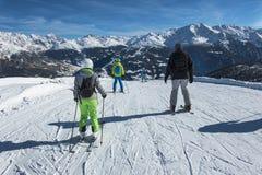 skiers Stock Fotografie