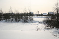 skiers Stockfotos