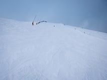 skiers Foto de archivo libre de regalías