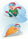 Skiers Royalty Free Stock Photos