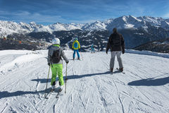 Skiers Stock Photography