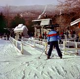Skiers at Sugarbush Ski Resort in Vermont