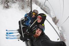 Skiers Stock Image