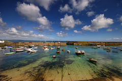 Skies over Mousehole Royalty Free Stock Image