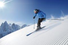Skieur Image stock