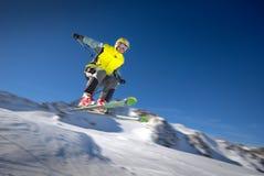 Skieur Photo libre de droits