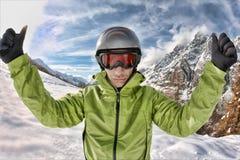 skieur photos stock