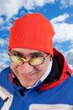 Skieur d'homme Images libres de droits