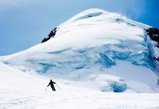 Skieur de Freeride photo libre de droits