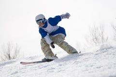 skieur extrême image libre de droits