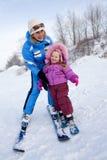 skieurs Photographie stock libre de droits