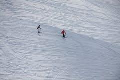 Skieurs Image stock