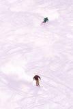 Skifahren Lizenzfreies Stockfoto
